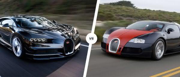 veyron entre as coisas que voce deve saber sobre o novo Bugatti Chiron
