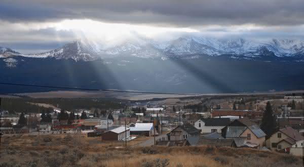 Leadville Colorado entre as cidades de maior altitude no mundo
