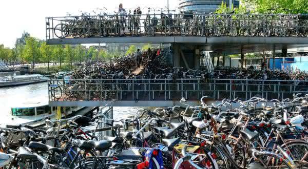 holanda entre os países com mais bicicletas por habitantes