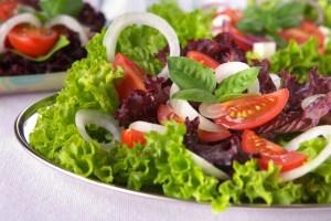 ensalada verde Mejores comidas Dominicanas