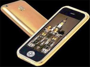 Supreme Goldstriker iPhone celulares más caros del mundo