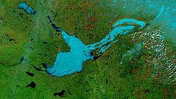 10 Lagos más grandes e impresionantes del mundo