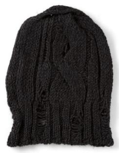mens-knit-hat-torn-black
