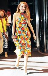 printed julia halter maxi dress
