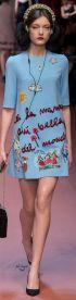 embroidered dolce&gabbana fall 2015