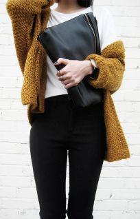 street-style-mustard-knit
