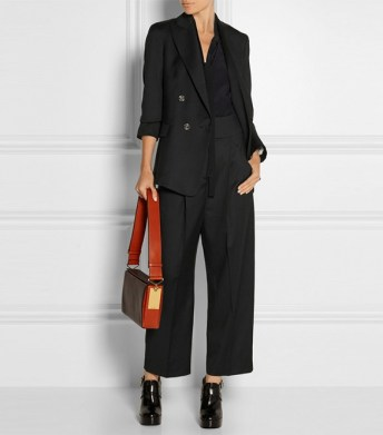 temperley london isaac double breasted wool blazer
