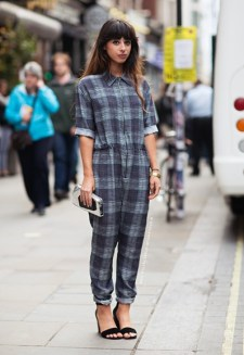 checks boilersuit