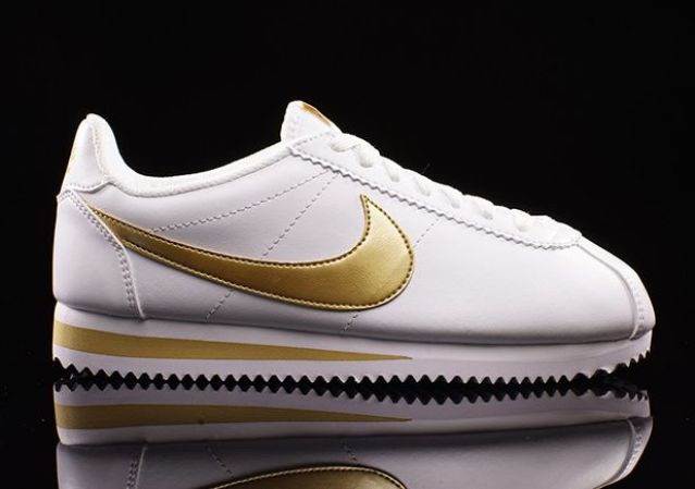 the classic white and gold