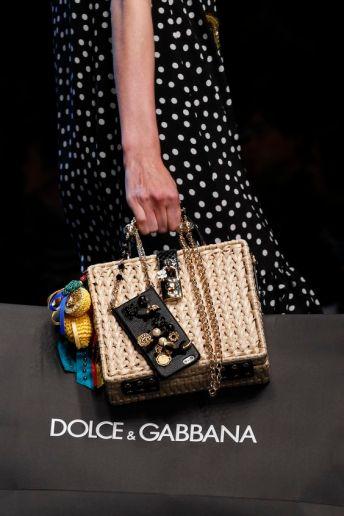 dolce gabbana statement bag
