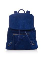 classic traveller backpack suede balenciaga