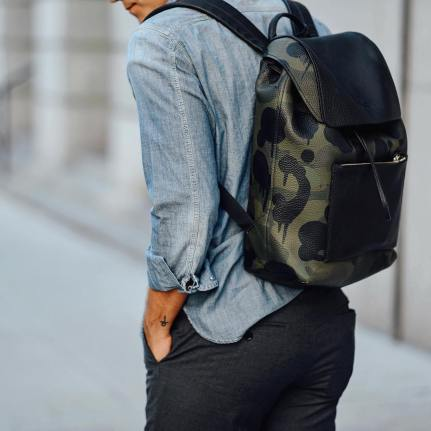 coach large manhattan backpack