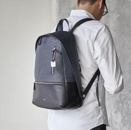 skagen kroeyer leather backpack