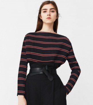 mango-pleated-blouse