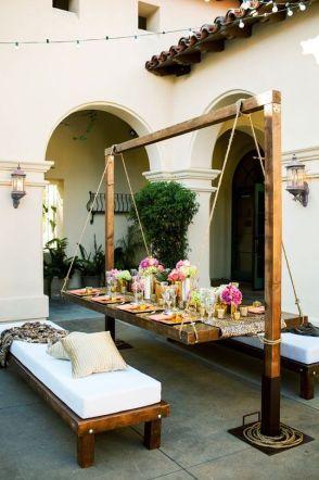 coffee tables backyard