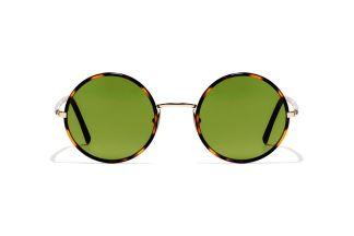 havana tartarugato in green vintage L.G..R