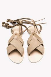 karpathos sandals light brown