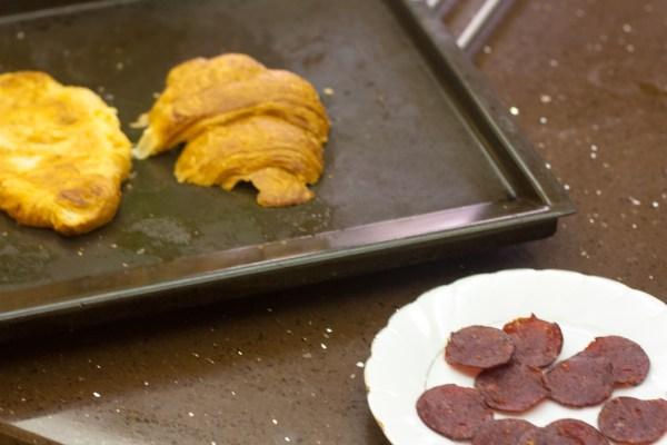 Toasting Croissant