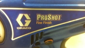 Graco ProShot Fine Finish Cordless Sprayer Review (2011)