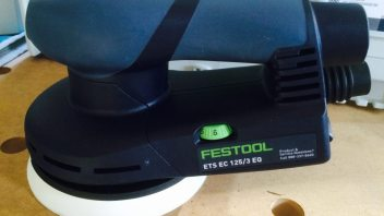 Review: New Festool ets ec 125 Sander