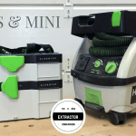 The CT-Mini was previously the smallest in the Festool dust extractor line.