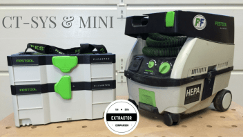 Festool CT-SYS Dust Extractor: Change for the Different