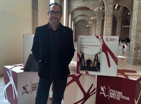 Ricardo Menéndez Salmón gana el Premio Biblioteca Breve 2016