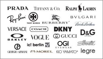 designer brand labels