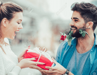 Gift-Giving to Woman