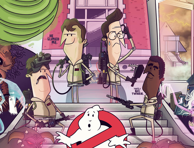 Chris' Ghostbusters Poster