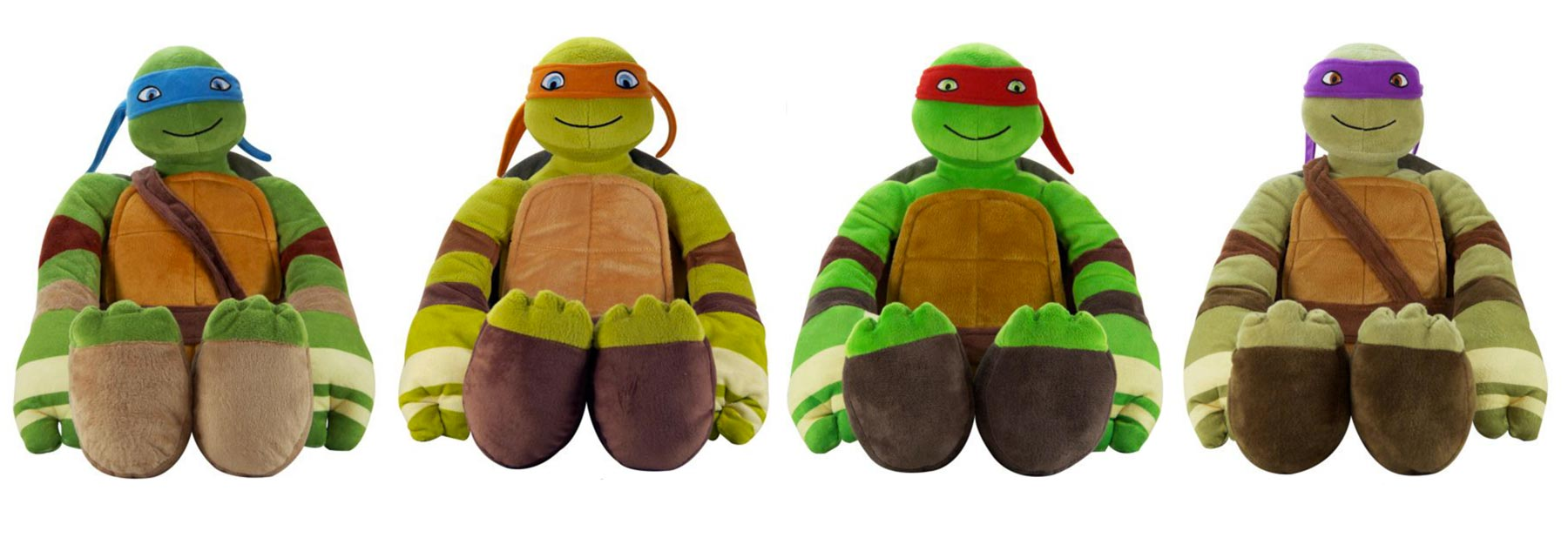 TMNT Pillow Buddies