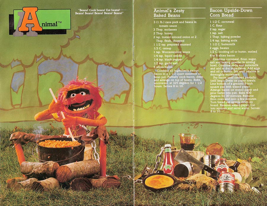 Muppet Picnic Cookbook Pages 11-12
