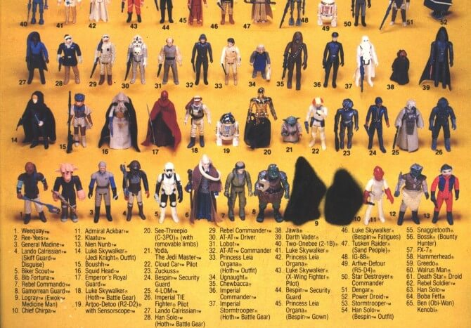 65 Card Back with Obscured Ewoks