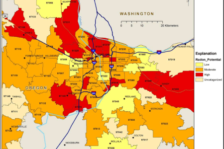 Map Usa Portland Oregon Labeled With Map Usa Portland Oregon - Colorado springs on us map