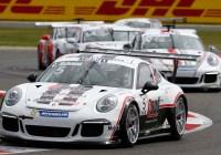 Sieg für Clemens Schmid in Silverstone © Porsche AG