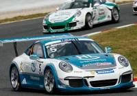 Sieg für Michael Ammermüller © Porsche AG