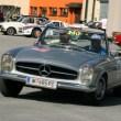 Günther Hegenbart auf Mercedes-Benz 250 SL