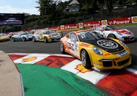 Philipp Eng siegt auch in Spa © Porsche AG
