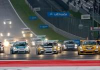 Schwierige Bedingungen beim Porsche Carrera Cup © Porsche AG