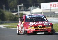 Christian Danner zeigte im DTM Alfa Romeo 155 Motorsport der Extraklasse © Histo Cup