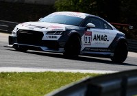 Max Hofer im Audi TT © Audi Media Sport