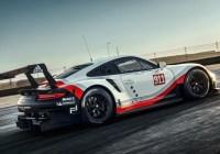 Porsche 911 RSR für die FIA-WEC © Porsche AG