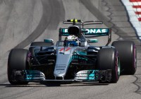 Valtteri Bottas im Mercedes auf dem Weg zum Sieg © Daimler AG