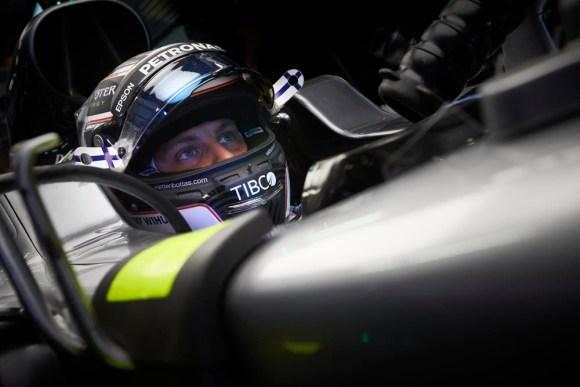 Valtteri Bottas startet aus der Poleposition © Daimler AG