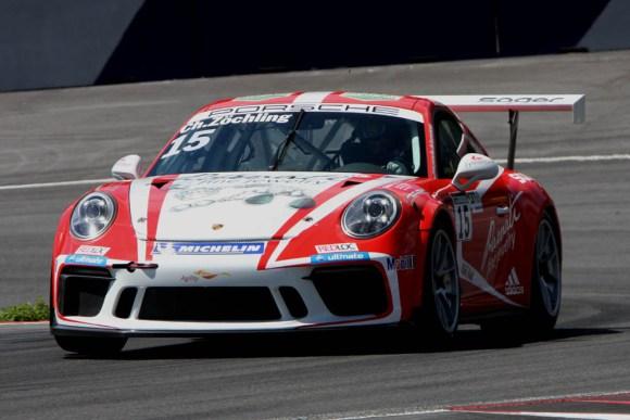 Rang zwei in der Fahrerwertung für Christopher Zöchling © Rudolf Beranek