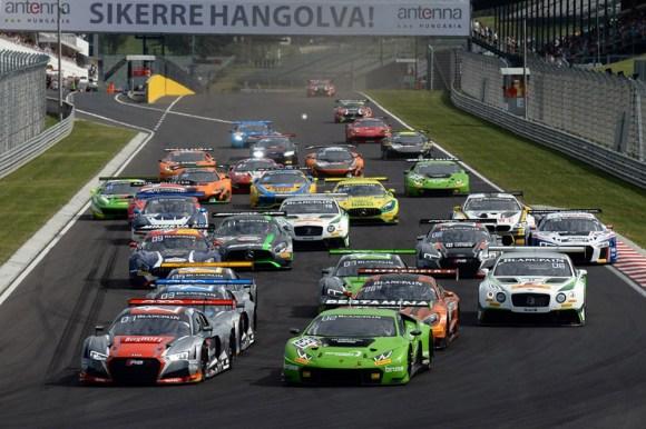 Start zu einem erfolgreichen Wochenende für die steirische Lamborghini-Mannschaft © © GRT Grasser Racing Team - Speedy