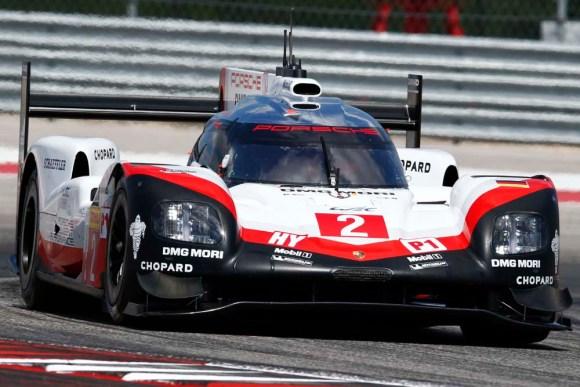 Sieg für Earl Bamber, Timo Bernhard, Brendon Hartley © Porsche AG
