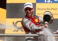 René Rast feiert seinen DTM - Titel © Audi AG
