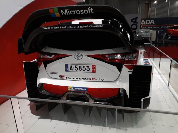 "Toyota Yaris WRC ""Geflügel"" © topspeed - R. Beranek"