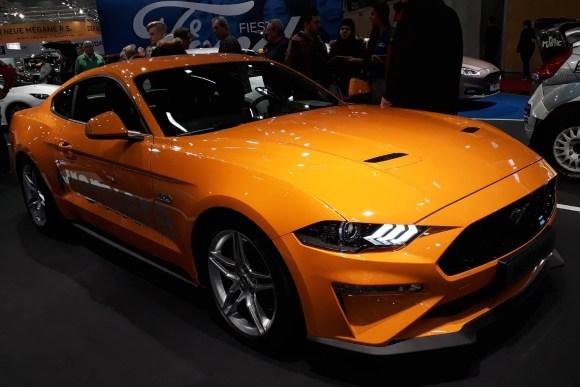 Ford Mustang 5,0 V8 © topspeed - R. Beranek